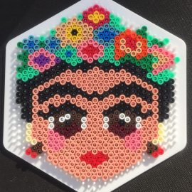 Hama Beads Frida Kahlo by Cieran Dance