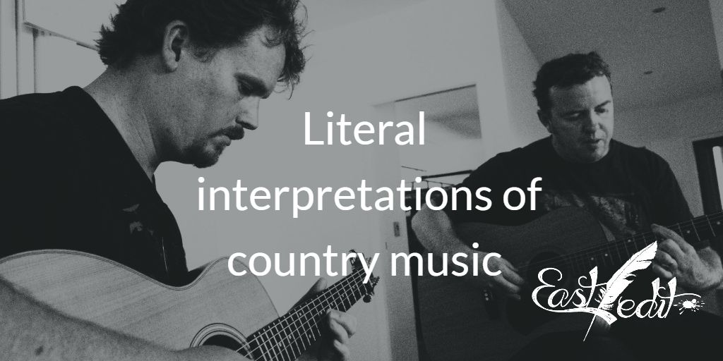 Banner image: Literal interpretations of country music