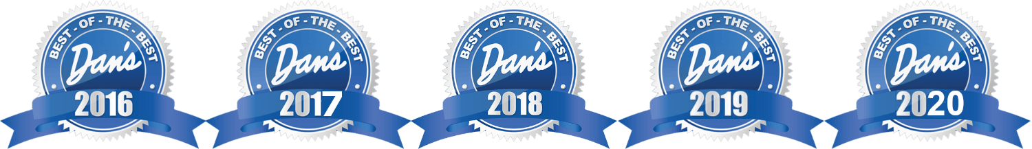 Dan's Best Of The Best Award 2016-2020