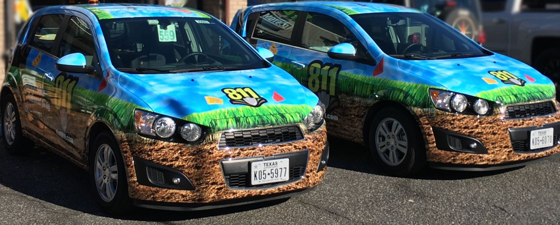 wrapped vehicles