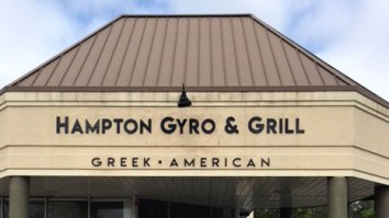 Hampton Gyro & Grill dimensional sign