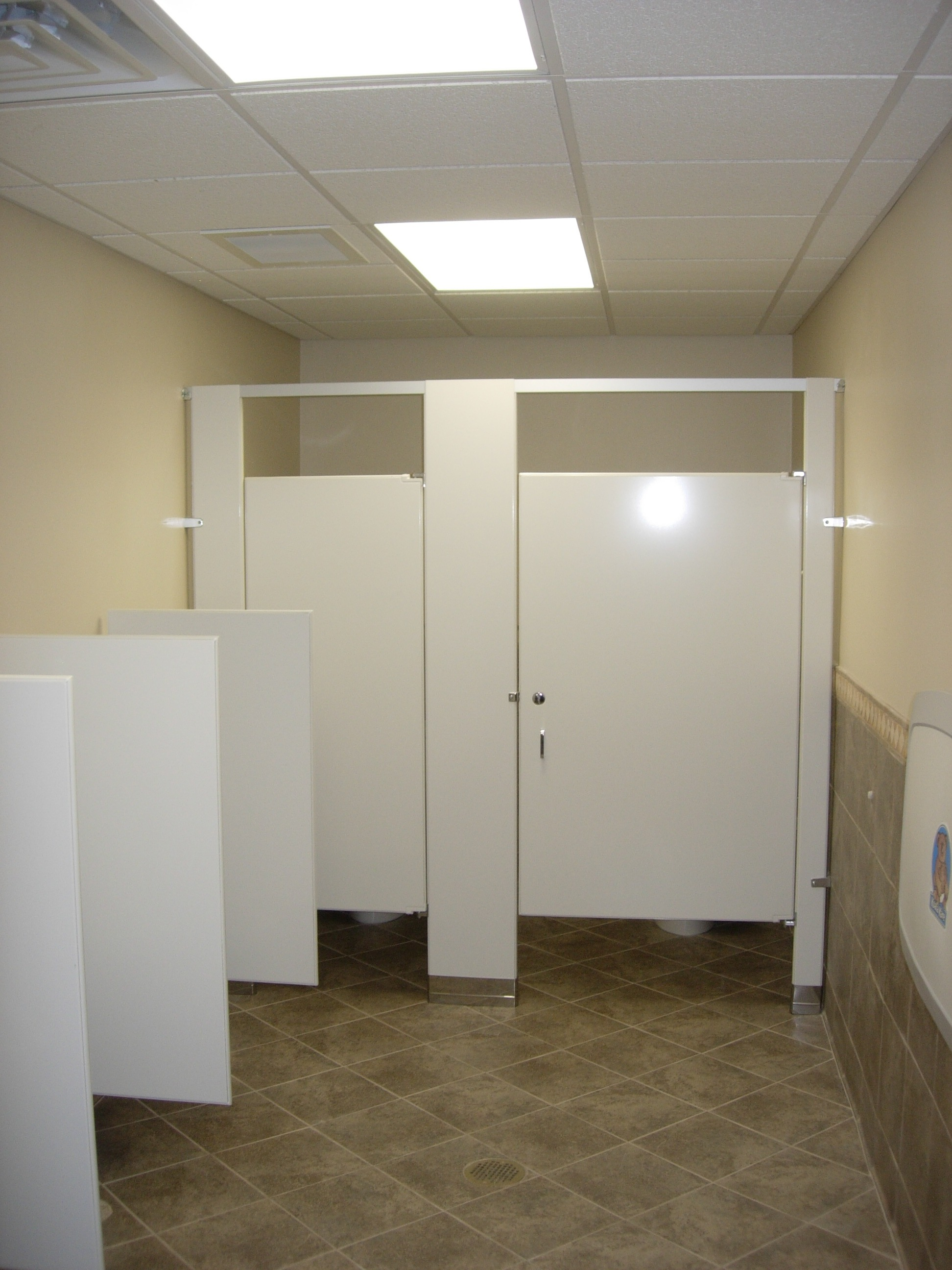 Grace Baptist Church Restroom Remodel  Easterday Construction