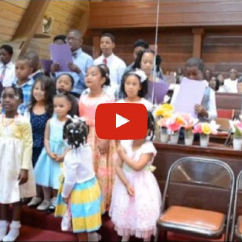 Children's Easter Choir - 2014