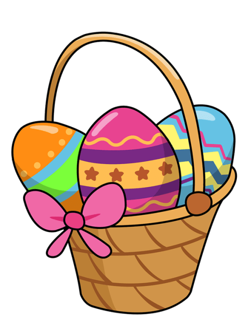 Easter 2020 Basket Clipart