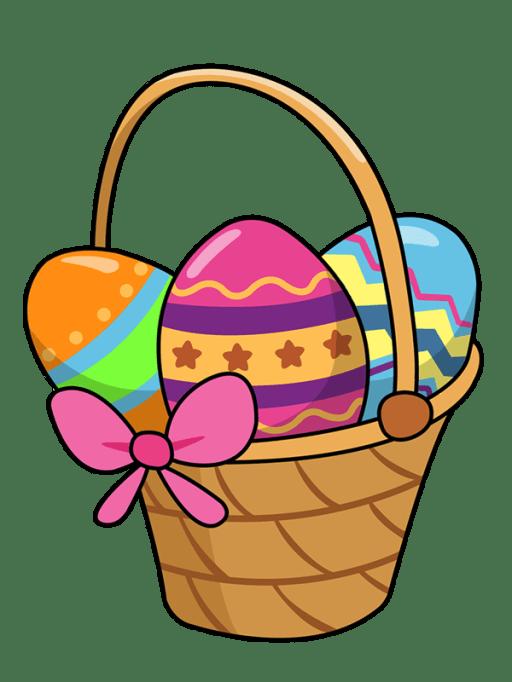 Easter 2020 Basket Clipart