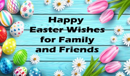 Easter Wishes For Friends