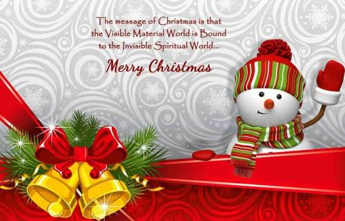 Merry Christmas Wishes Quotes For Friends