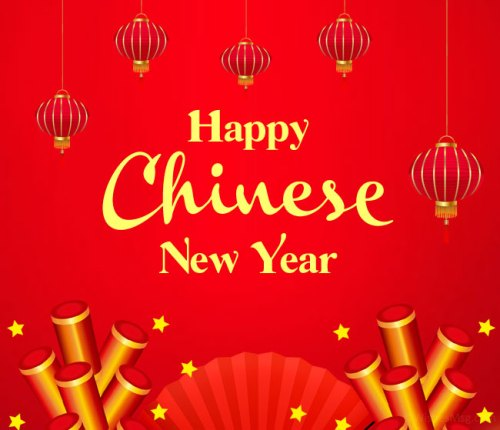 Happy Chinese New Year Wishing Images