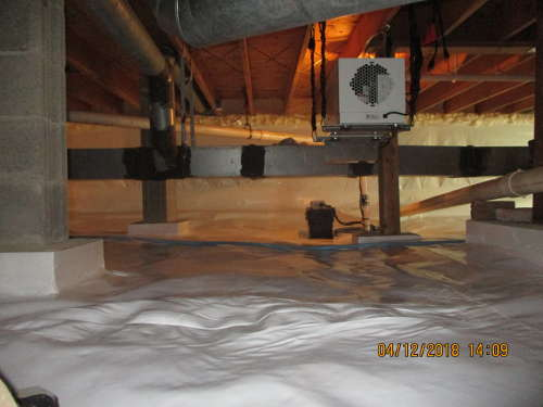 Crawl space repair in Maine