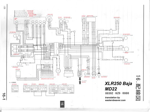small resolution of baja 250 wiring diagram