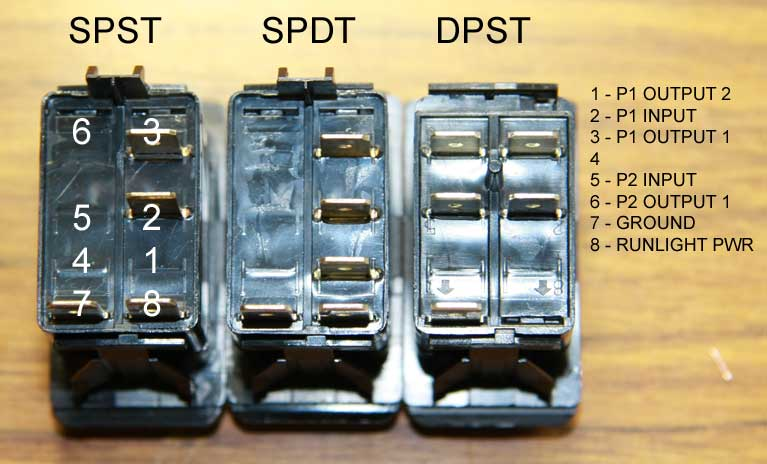 How To Wire Illuminated Spdt Dpdt Switches Jeepforumcom
