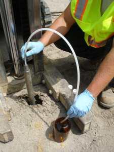 subsurface testing soil testing soil vapor testing service