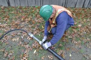 vacuum excavation service