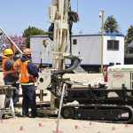 geoprobe drilling soil testing