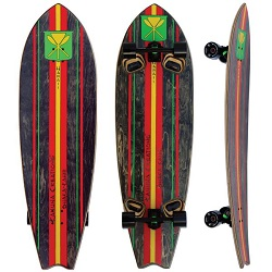 "Kahuna Creations Shaka Surf 46"" Complete Land Paddle"