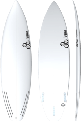 Channel Islands Black & White Surfboard