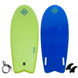"Hubboards Stand Up Twin Fin 54"" Bodyboard"