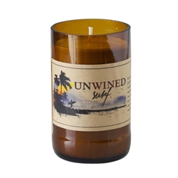 Unwined Coconut 8oz Beer Candle