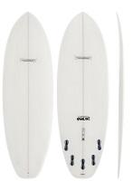 Modern Highline PU Surfboard Clear
