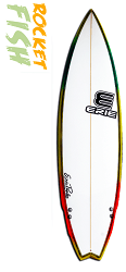 Erie Rocketfish Surfboard