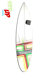 Erie Step-up Surfboard