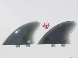 Rainbow Fish Keel Twin Fins