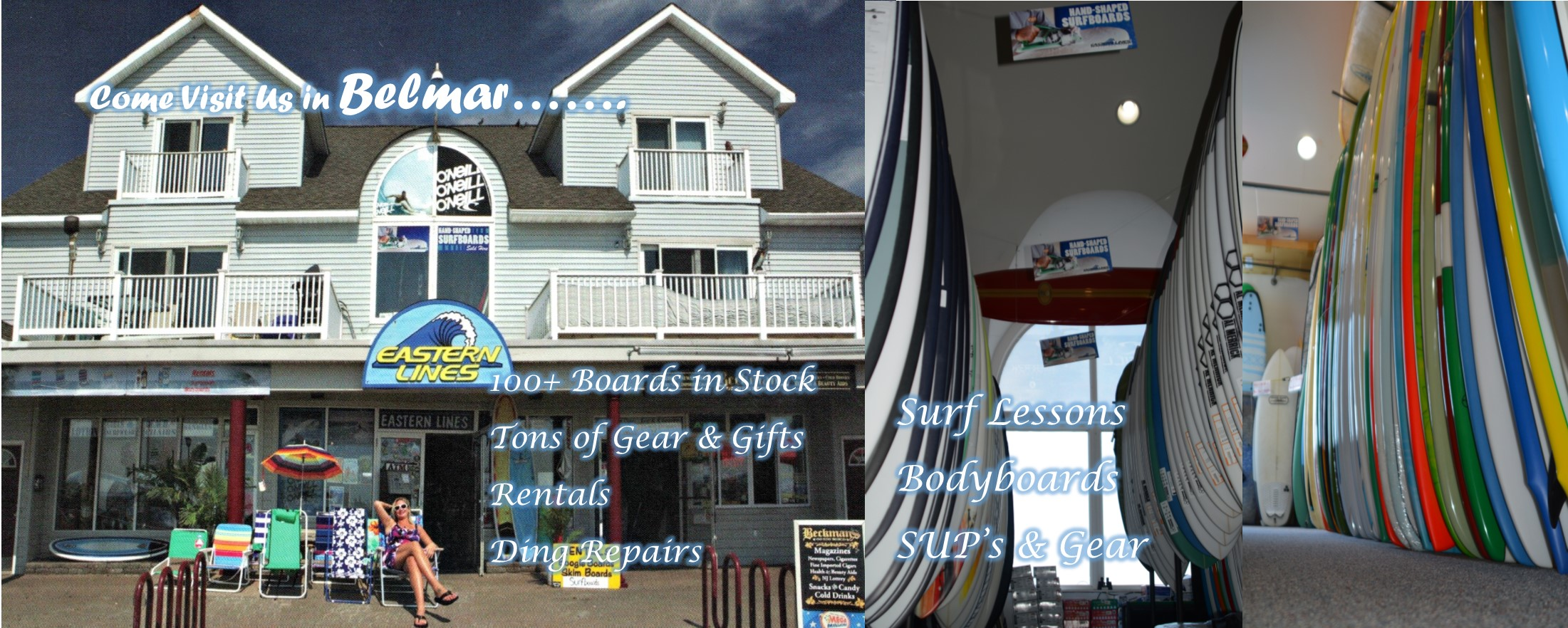 Visit Us in Belmar - Eastern Lines