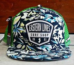 Eastern Lines Hawaiian Structured Hat