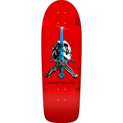 Powell Peralta Rod Skull & Sword-Red-250