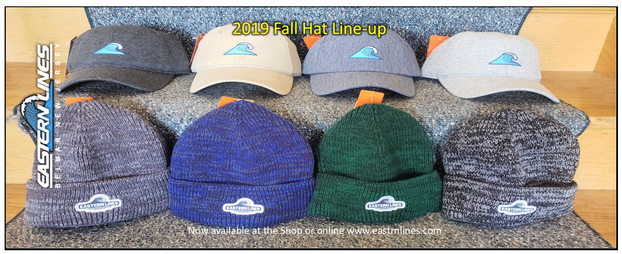 2019 Eastern Lines Fall Hat Line-up