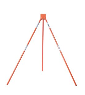 orange, tripod, stand, sign stand
