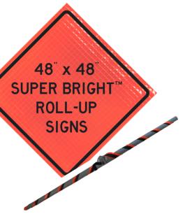super bright roll up