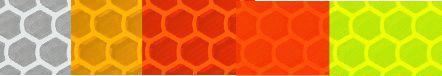 oralite 59 prismatic material, orafol reflective, construction grade