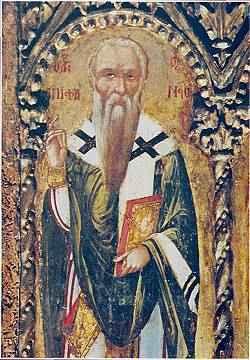 Ὁ Ἅγιος Ἐπιφάνιος Ἐπίσκοπος Κωνσταντίας καὶ Ἀρχιεπίσκοπος Κύπρου