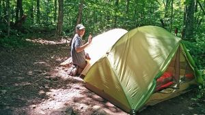 A quiet backcountry campsite in the Catskills - Eastern Outdoor Experiences