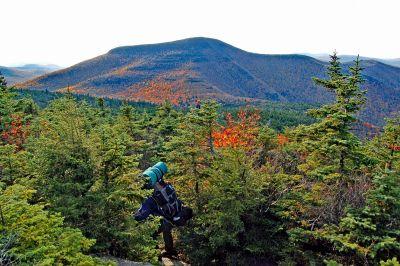 Slide Mountain in Autumn