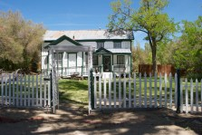 """The Benton """"Old House,"""" which we learned was moved decades ago in three separate pieces from its original location."""