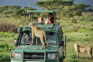 Masai Mara air safari for best wildlife views