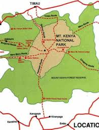 Mount Kenya National Park -best point for bird watching and mountain climbers