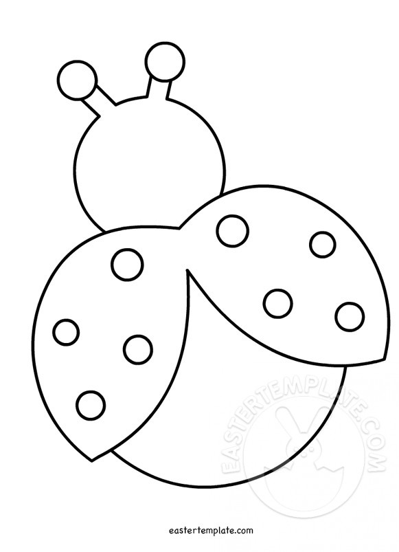 > ladybug template
