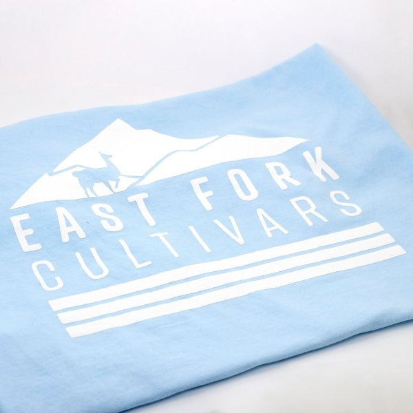 East Fork Cultivars Chambray Llama Shirt Back