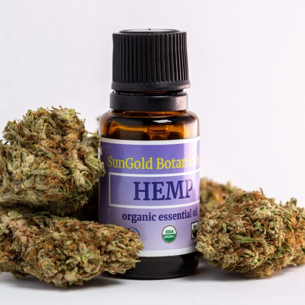 USDA Organic Hemp Essential Oil