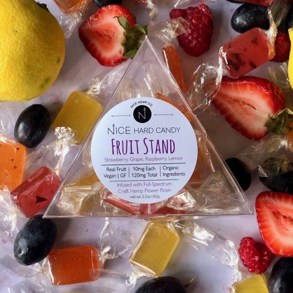 Mixed fruit hemp CBD hard candy