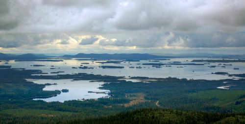 The study system consists of 30 islands of different sizes in the two large lakes, Lake Uddjaure and Lake Hornavan, near Arjeplog in northern Sweden