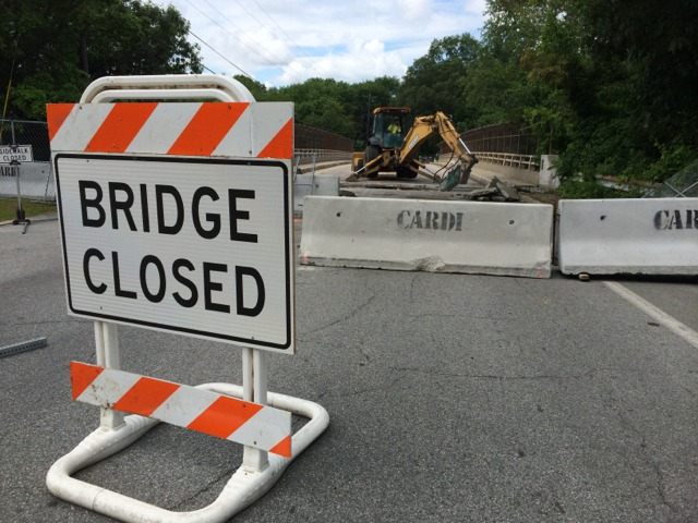 Middle Road Bridge Work Should Be Done By End of August