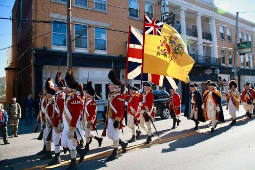 His Majesty's Tenth Regiment of Foot in America, a historically re-created infantry unit formed to portray the service of the British Army during the U.S. Revolutionary War.