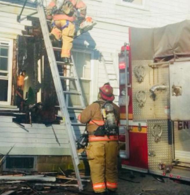 King Street Fire Displaces 7