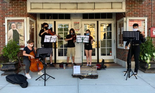 Students Pay Tribute to Fellow String Player