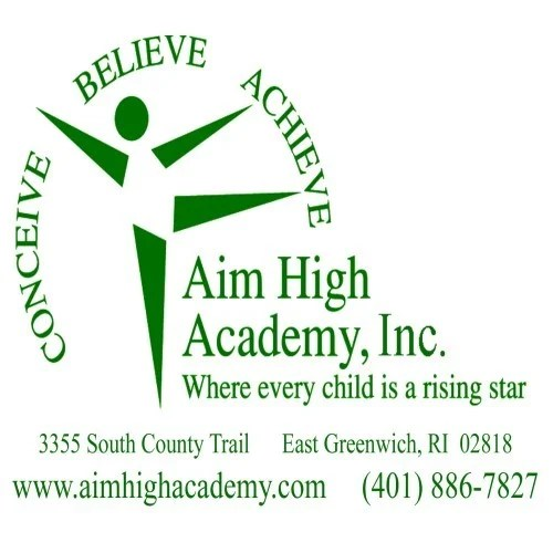 aim high logo eg news