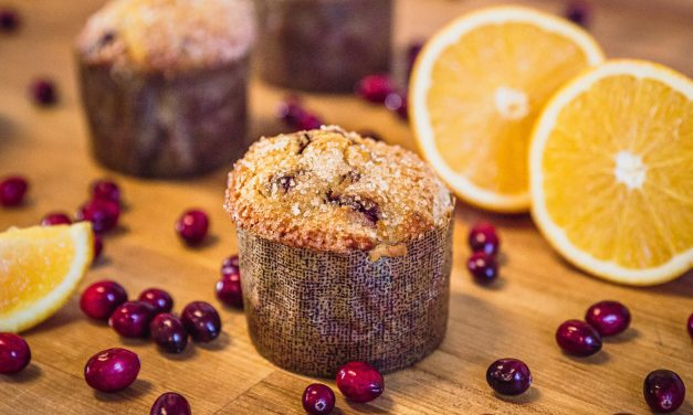 EG Eats: Cranberry-Orange Corn Muffins